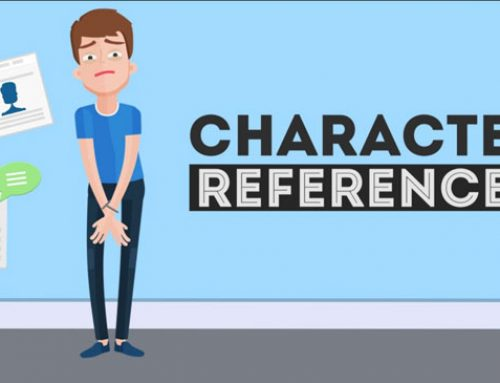Why obtain character references ?